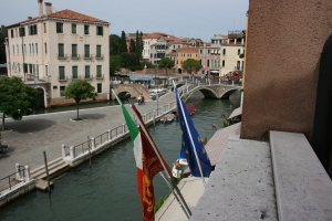 The view from the Hotel Olimpia in Venice