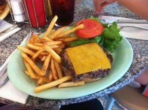 Beaches and Cream burger