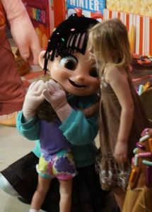 A and S with Vanellope