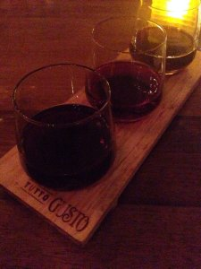 Red wine at Tutto Gusto, photo credit Yelp user Cassie P