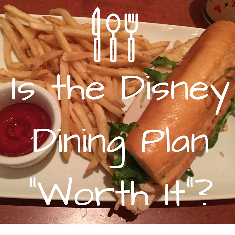 is disney dining plan worth it for 2 adults